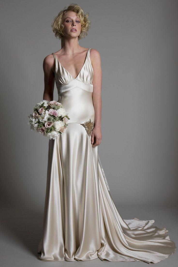 dropped waist wedding dresses cowl neck wedding dress www halfpennylondon com bridal wedding dresses lace vintage london