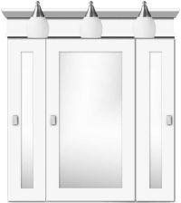 Top 25 ideas about White Medicine Cabinet on Pinterest