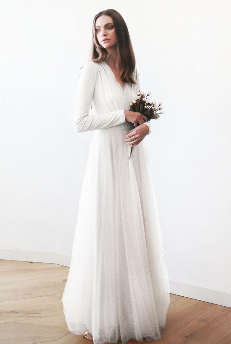 conservative wedding dress wedding dresses with sleeves 50 Beautiful Long Sleeve Wedding Dresses