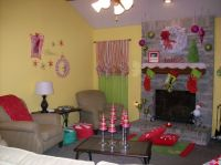 My WhoVille, My living room all dressed up for Santa in ...