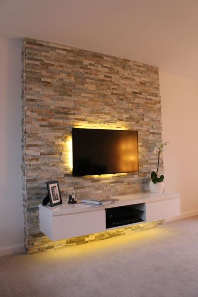 Best 20+ Tv Feature Wall ideas on Pinterest | Feature walls, Wall and Televisions for living rooms