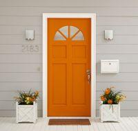 25+ best ideas about Orange Door on Pinterest   Orange ...