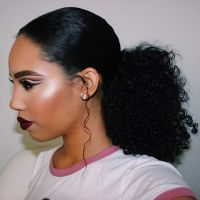 Best 20+ Natural Hair Ponytail ideas on Pinterest