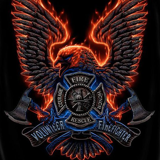 Firefighter Quotes About Courage Wallpaper Volunteer Firefighter Courage Emblem Tee Black Laurie