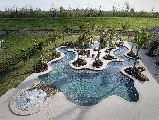 17 Best ideas about Backyard Lazy River on Pinterest