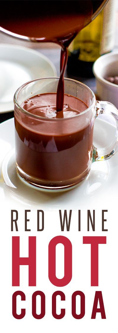 Red wines, Hot chocolate and Wine on Pinterest