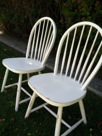17 Best images about Painted vintage Dining chairs on ...