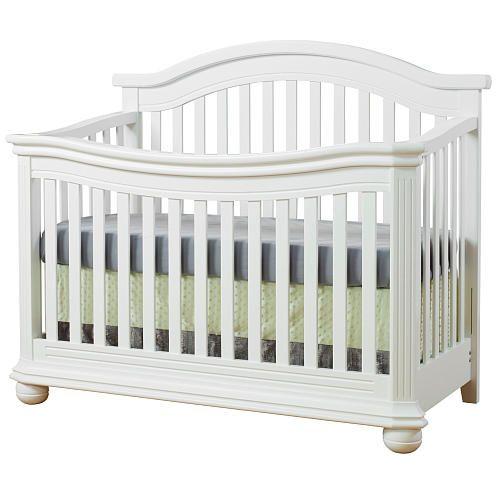 Sorelle Vista Elite 4 In 1 Convertible Crib White