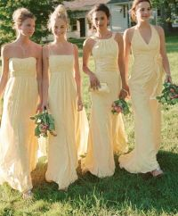 25+ best ideas about Yellow bridesmaid dresses on ...