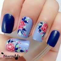 17 Best ideas about Floral Nail Art on Pinterest | Pretty ...