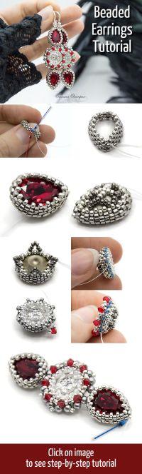 Best 25+ Beadwork ideas on Pinterest | Seed bead patterns ...