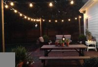 17 Best images about Backyard on Pinterest   String lights ...