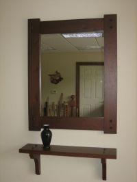 Hallway Mirror With Shelf. Beautiful Medium Image For ...