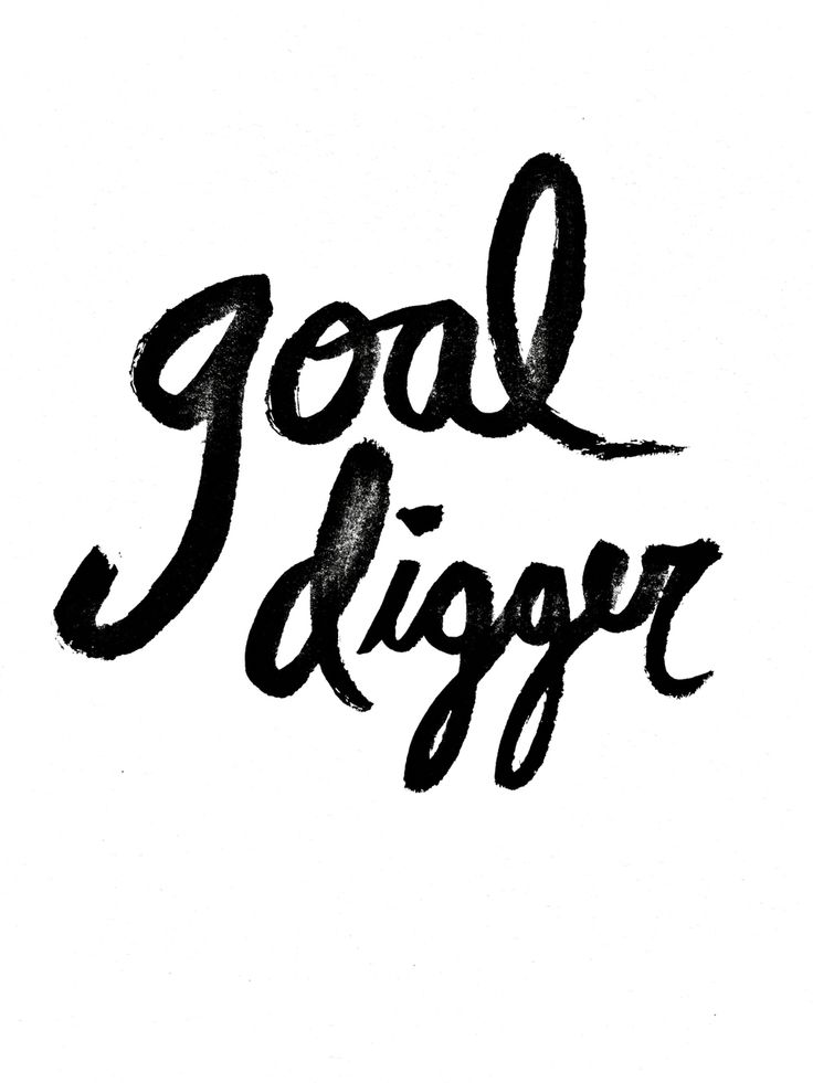 Cute Nutella Wallpapers Goal Digger Quotes Mr Kate Handwriting