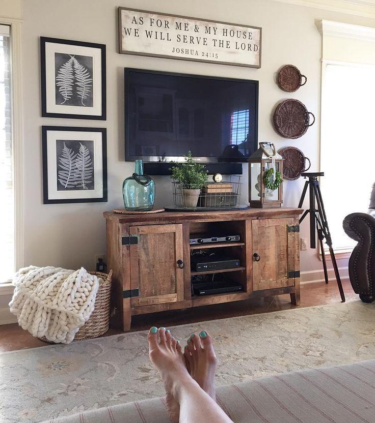 25+ best ideas about Shelf Above Tv on Pinterest