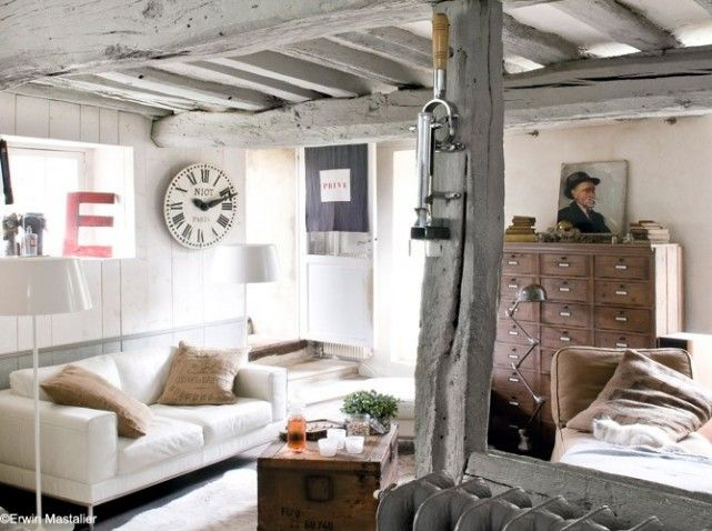 Deco Salon Campagne #deco #campagne #cosy | Déco Campagne - Country Decor