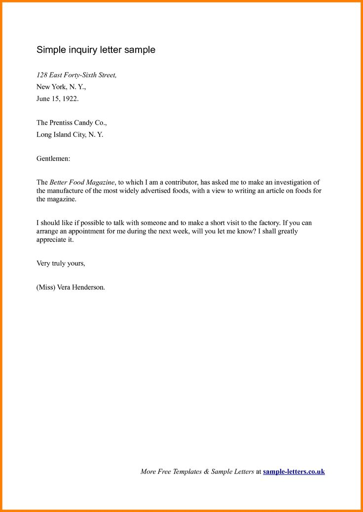 uk business letter template