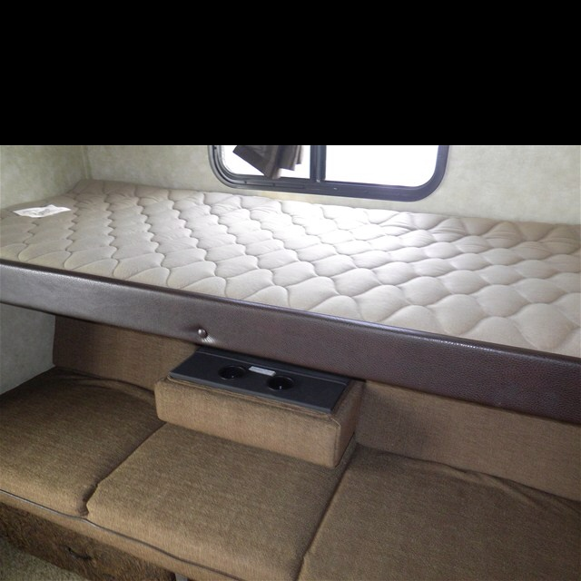Top Bunk Over Fold Down Couch Camper N Horse Trailer