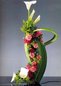 Flower arrangement 'Dakar' - Calla (zantedezi ...