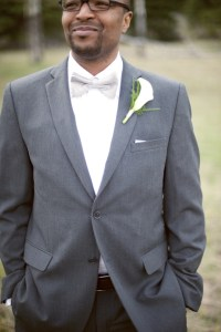 Grey Wedding Suits For Men Bow Tie | www.imgkid.com - The ...