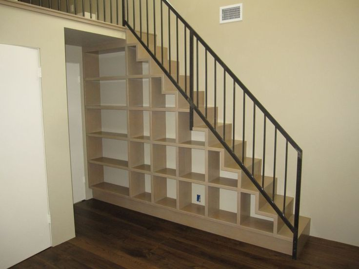 Loft Stair Cubby Storage House Design Pinterest