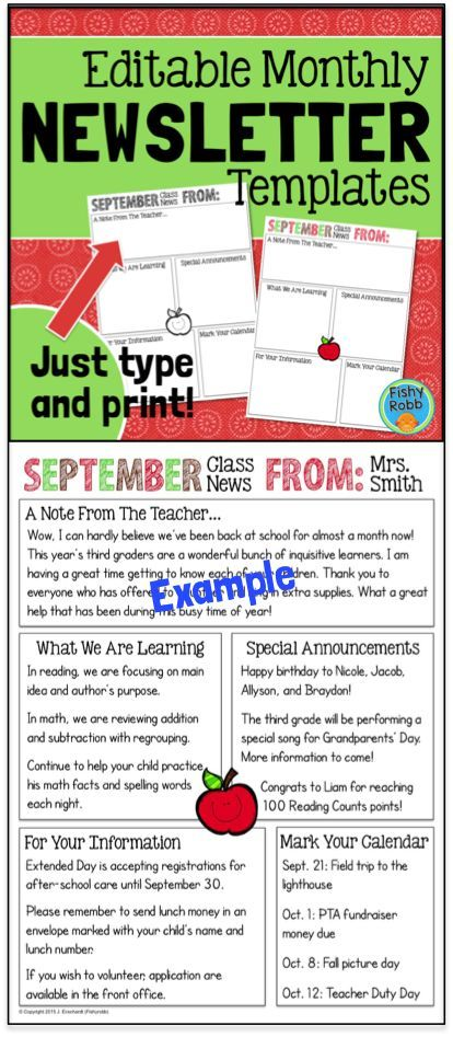 editable newsletter template - 28 images - blank monthly - school newsletter templates