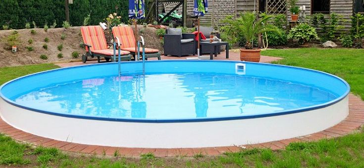 Pool Rund Erdeinbau Best 20+ Stahlwandpool Rund Ideas On Pinterest