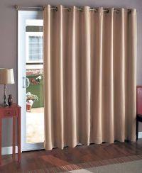 25+ best ideas about Sliding door curtains on Pinterest ...