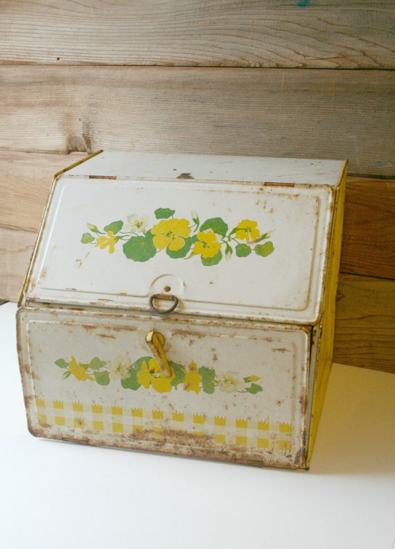 1000 Images About Vintage Bread Boxes Canisters On