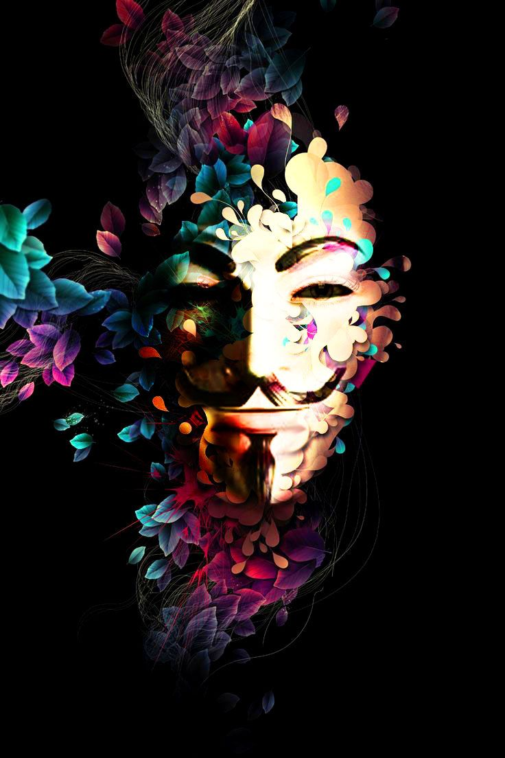 Girl Tshirts Hd Wallpaper Anonymous Art Of Revolution Edition Faeizzamriee