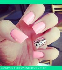 Pink Nails & Cheetah Print | Nails | Pinterest | Print ...