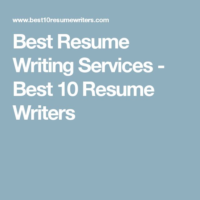Best Resume Writing Service Chicago Executives Best Resume Writing Services  Dc  Resume Writers Chicago