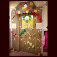 My gingerbread house classroom door | Classroom door ...