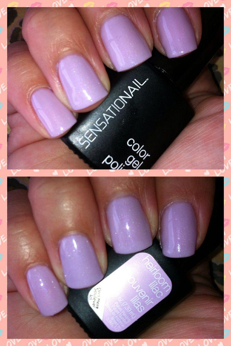 Heirloom Lilac Sensationail Gel Polish Love This Color