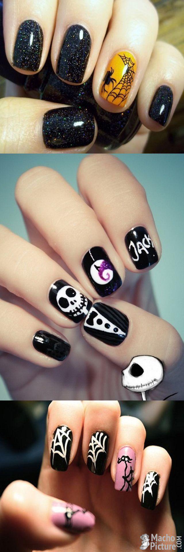 25 Best Ideas About Halloween Acrylic Nails On Pinterest