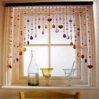 Also in window over bathroom mirror! Kitchen-curtain-ideas ...