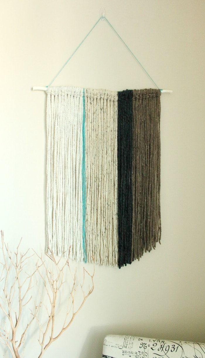 17 Best ideas about Yarn Wall Art on Pinterest