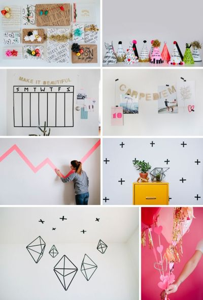1000+ ideas about Washi Tape Wallpaper on Pinterest   Washi tape wall, Tape wall and Tape wall art
