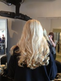Wedding day hair.. Micro Ring extensions x | Paulette ...
