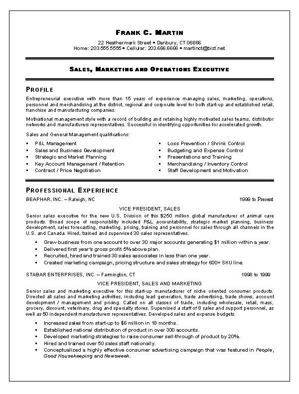 software sales executive resume example sales executive resume retail sales representative resume - Retail Sales Representative Resume