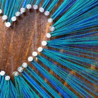 25+ best ideas about Thread Art on Pinterest | Diy string ...