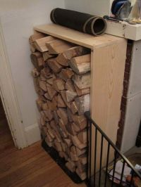 80 best ideas about Legno: Porta Legna, firewood holder on ...