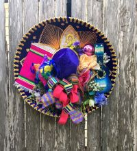 Fiesta Sombrero Wreath - Fiesta Wreath - Cinco de Mayo ...