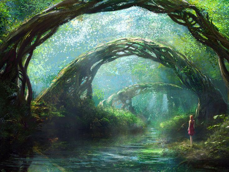 3d Mushroom Garden Hd Wallpaper Download Fantasy Forest Wallpapers Love It Very Intriguing