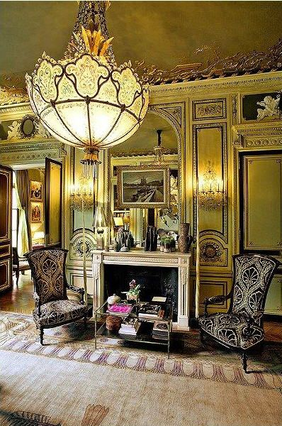 Bank Shabby Chic Exotic Excess - Estate Of The Day: Belle Epoque Apartment