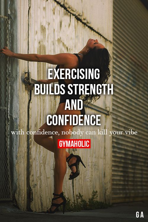 Good Quotes Wallpaper For Facebook Exercising Builds Strength And Confidence With Confidence