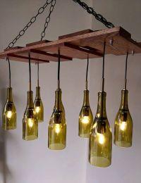 Best 25+ Bottle chandelier ideas only on Pinterest   Wine ...