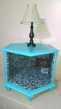 Adorable Octagon End Table Dog or Cat Bed | For My Room ...