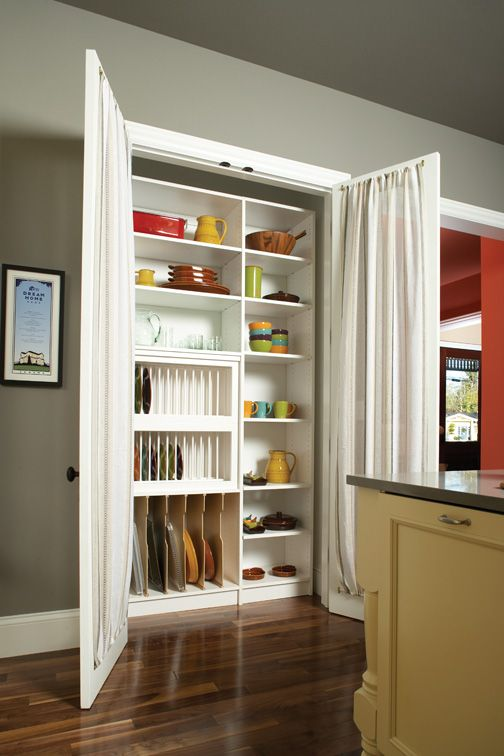 Pantry Vertical Storage And Storage On Pinterest