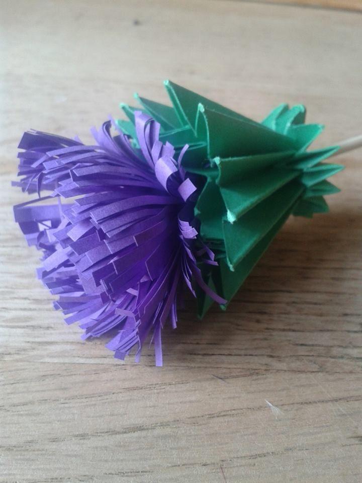 make paper flower bouquet